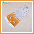Custom design d'impression numérique en molleton de soie style de football écharpe écharpe d'impression photo
