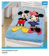 cartoon design baby blanket factory sales