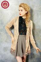 Elegant design crochet cardigan sweater