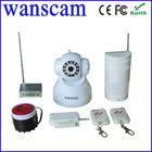 MIni Robot CCTV Camera Remote Controller Infrared Detector Alarm Whistle Wireless Door Magnetic Linkage Box IP Camera