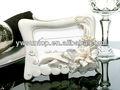 elegante tiger lily foto e colocar moldura do cartão nupcial favor favor do chuveiro