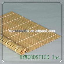 natrual bamboo Sushi rolling Mat (Makisu) without bamboo skin
