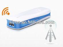 top selling portable wifi power bank white green pink 5200mah
