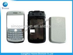 Original Full Housing Cover Case For Blackberry Bold 9700 Faceplate& Battery Cover&keypad&Lens&Midplate&Trackball