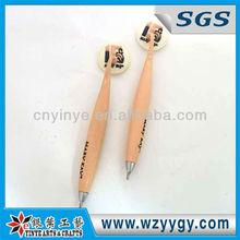 custom bendy pen