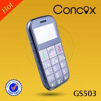 2013 Hot selling model easy read elders phone GS503