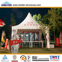 high quality printed pagoda tents with size 5mx5m for sale