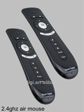 2.4ghz 3d fly mouse motion controller for PC/smart TV