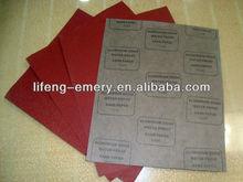 latex water-resistant abrasive paper aluminum oxide sand powder