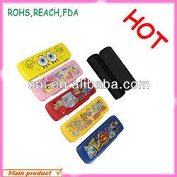 Pencil Box For Kids,sliding pencil box,Plastic Pencil Box