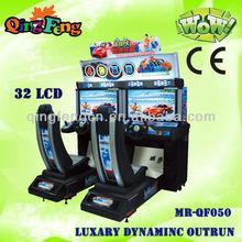 Simulator Arcade Racing Car Game Machine,Go Kart Driving Game Machine,Full Dynamic Outrun Car Racing Game Machine MR-QF050