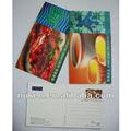 lenticular 3d postal de manjares de hong kong