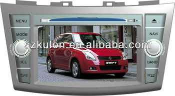 Double din Suzuki swift car dvd accessories with bluetooth Win CE 6.0.IPOD/IPHONE