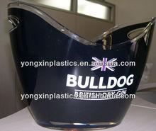 PP plastic ice bucket with opener for beer