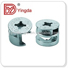 Steel dowel fastener pins/furniture connecting screw YD301B1
