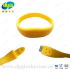 2013 bracelet shaped usb flash drive silicone usb