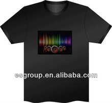led scrolling message t-shirts