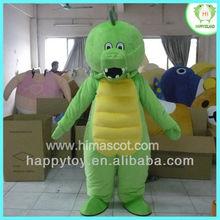 HI EN 71 green dinosaur Fur Cartoon character