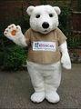 ciao orso mascotte costumi peri bambini