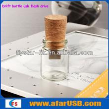 2013 New design cute USB flash drive USB drift bottle