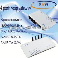 4 Port VoIP GSM/CDMA Gateway,GoIP Gateway,voip device,support IMEI change,USSD