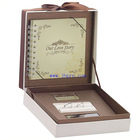 2013 jewelry packaging paper box with notebook
