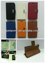 Sheep skin Wallet leather case for blackberry BB10 Z10 Dev Alpha B