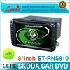 LSQ Star VW Skoda Fabia car dvd player with gps navi radio rds bluetooth IPAS,OPS,AC display...