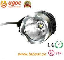 UGOE hot selling Cree T6 700lm electric led bike wheel lights no battery