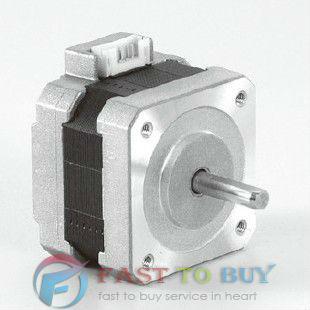 SHINANO 2 Phase Stepper Motor 42D Series SST42D1100 1.8 degree 42mm Unipolar Single Shaft 3.7V 0 ...