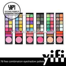 Hot!78New Color Eyeshadow Blush Powder eyeliner pen
