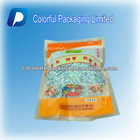 500g/Hot Sale/Bottom Opening/Transparent/Plastic/Zipper/Nuts/Dry fruits Bag/Pouch With Tear Notch&Food Advertising Map&Window