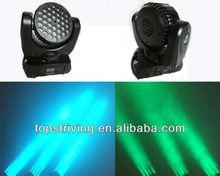 Sharp Beam moving head light with 36 X3W RGBW USA CREE LED stage light