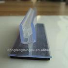 t shape magnetic label holder data strip