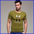 Neues modell für männer t- shirt, t- shirt 100% baumwolle, t- shirt bianche all'ingrosso