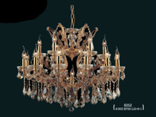 yaan earthquake-proof brown crystal chandelier MD8252