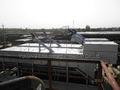 des eaux usées équipementintégré avec un grain de traitement du pétrole