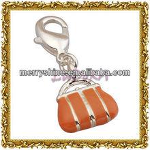 2013 Fashion Silver Hangbag Charms And Pendants-T344