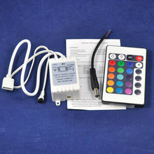 24 keys remote touch controller, IR series, CE, 5v/30w 12v/72w 24v/144w, led ethernet controller