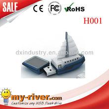 Sailing Boat USB flash drive, Burj Dubai shape USB flash drive. Toy USB. Customize any LOGO