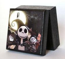 Small wooden Nightmare Before Christmas Box Jewelry Box