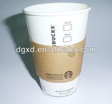8oz,12oz, 16oz, 22oz handle coffee paper cups