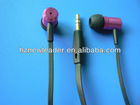 New fashion mini metal cheap and good quality earphone