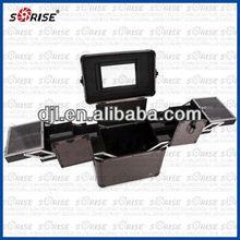 JL-3622SD aluminum trolley makeup case