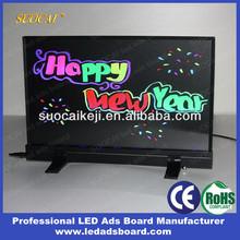 Alibaba Wholesale MIN Desktop or Hanging LED Display Board for Shops