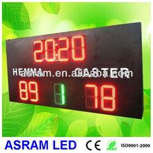 Electronic LED Basketball/Football Display Score Board,led football scoreboard with LED team name