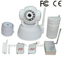 Wifi ip camera with Pan/Tilt and alarm function