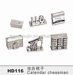 Animal chessmen/elegant chess/decoration craft,miniature game tokens