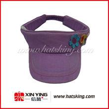 wholesale custom purple children bulk sale visor cap