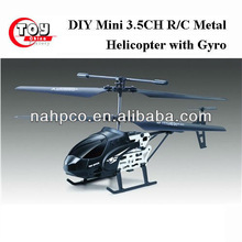 DIY Mini 3.5CH R/C Metal Helicopter with Gyro